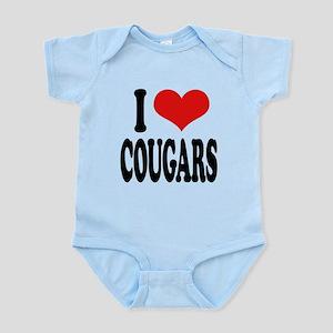 ilovecougarsblk Infant Bodysuit