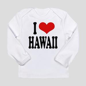 ilovehawaiiblk Long Sleeve Infant T-Shirt