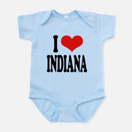 iloveindianablk.png Infant Bodysuit