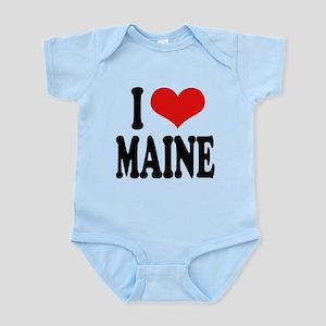 ilovemaineblk Infant Bodysuit