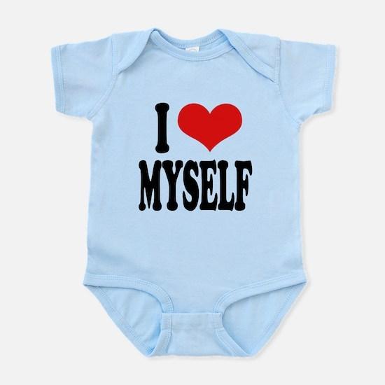 ilovemyselfblk.png Infant Bodysuit