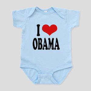 iloveobamablk Infant Bodysuit