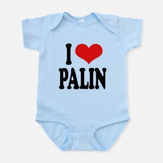 ilovepalinblk.png Infant Bodysuit