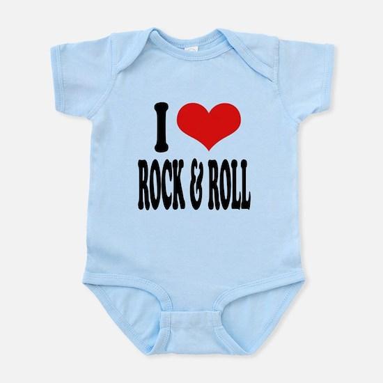 iloverockandrollblk.png Infant Bodysuit
