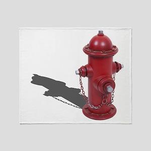 Fire Hydrant Throw Blanket