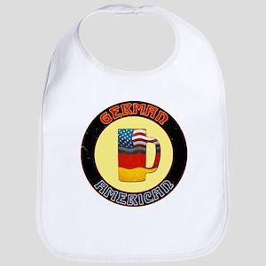 German American Beer Stein Bib