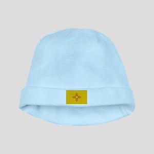newmexicoflagplainbanner42x28 baby hat