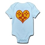 nmziaheart Infant Bodysuit