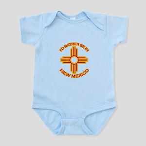 idratherbein-newmexico-outline Infant Bodysuit