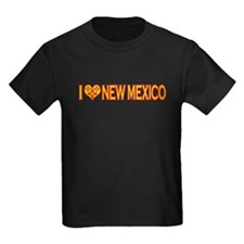 izialove-newmexico Kids Dark T-Shirt