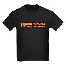 izialove-riorancho-nm Kids Dark T-Shirt