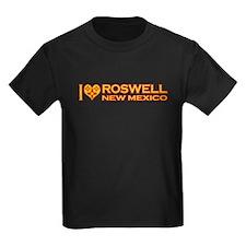 izialove-roswell-nm Kids Dark T-Shirt