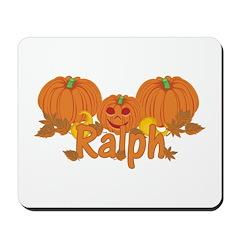 Halloween Pumpkin Ralph Mousepad
