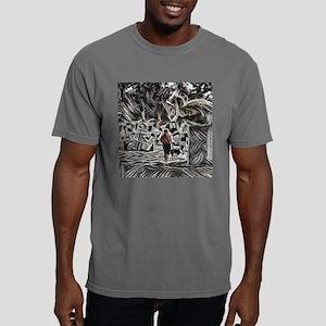 Calfia T-shirt Mens Comfort Colors Shirt