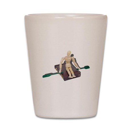 Rowing Briefcase Shot Glass