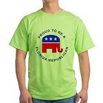 Florida Republican Pride Green T-Shirt