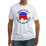 Florida Republican Pride Fitted T-Shirt