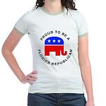 Florida Republican Pride Jr. Ringer T-Shirt