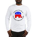 Florida Republican Pride Long Sleeve T-Shirt