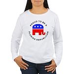 Florida Republican Pride Women's Long Sleeve T-Shi