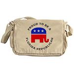 Florida Republican Pride Messenger Bag