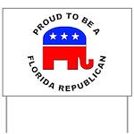 Florida Republican Pride Yard Sign