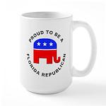 Florida Republican Pride Large Mug