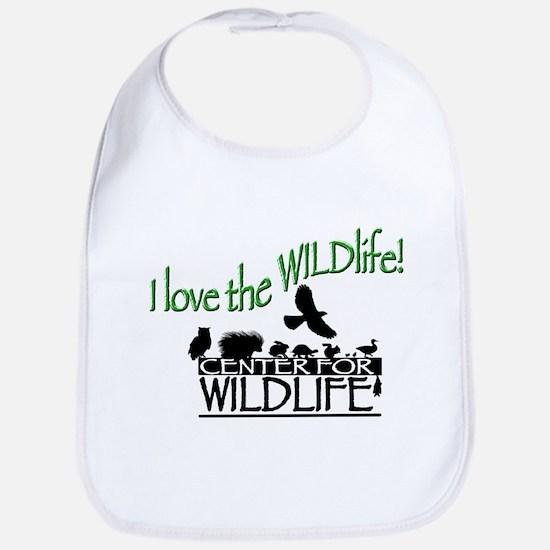 I love the Wildlife logo.png Bib