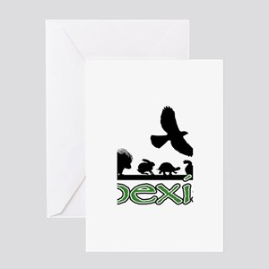 cfw coexist art Greeting Card