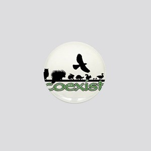 cfw coexist art Mini Button