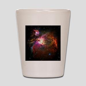 Orion Nebula (High Res) Shot Glass