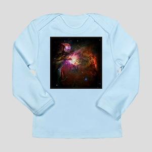 Orion Nebula (High Res) Long Sleeve Infant T-Shirt