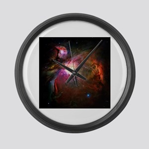 Orion Nebula (High Res) Large Wall Clock