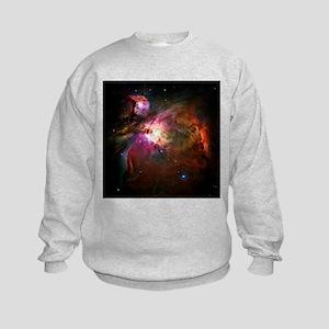 Orion Nebula (High Res) Kids Sweatshirt