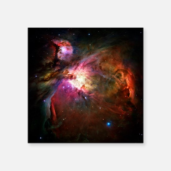 "Orion Nebula (High Res) Square Sticker 3"" x 3"""