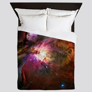Orion Nebula (High Res) Queen Duvet
