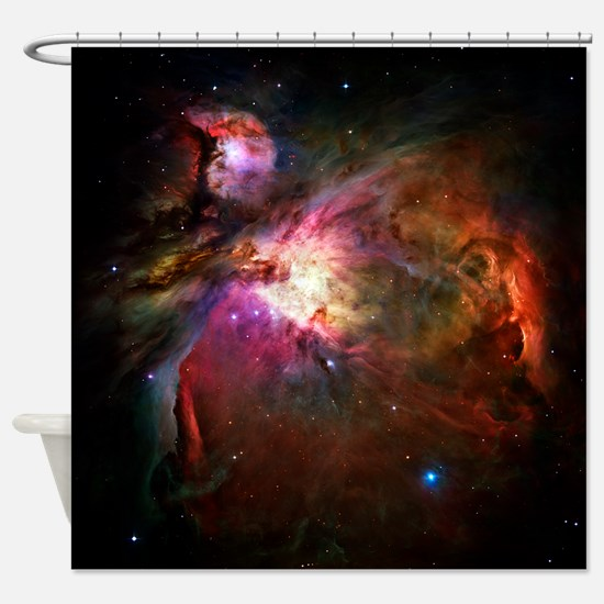 Orion Nebula (High Res) Shower Curtain