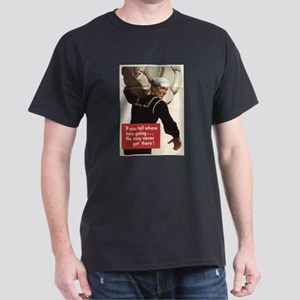 If You Tell Black T-Shirt