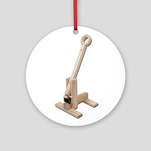 Trebuchet Ornament (Round)