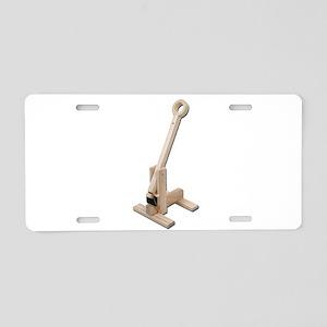 Trebuchet Aluminum License Plate