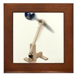 World War Catapult Framed Tile