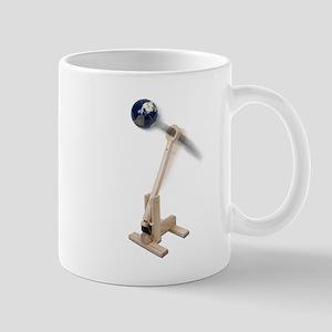 World War Catapult Mug