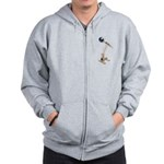 World War Catapult Zip Hoodie