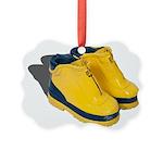 Rubber Boots Picture Ornament