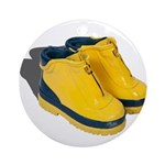 Rubber Boots Ornament (Round)