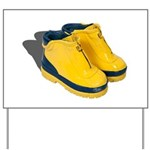 Rubber Boots Yard Sign