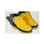 Rubber Boots Rectangle Magnet (100 pack)