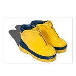 Rubber Boots Postcards (Package of 8)