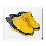 Rubber Boots Mousepad