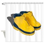 Rubber Boots Shower Curtain